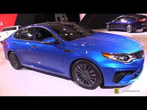 KIA Optima - Exterior and Interior Walkaround -  New York Auto Show