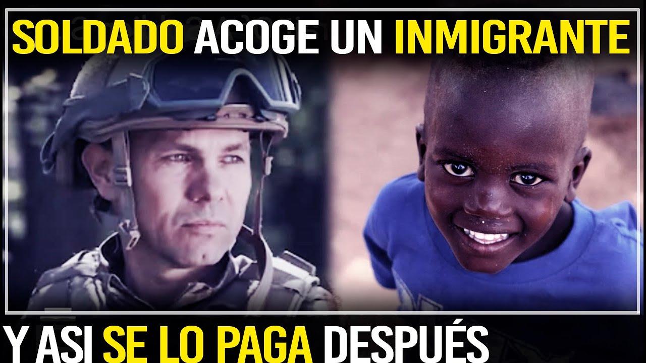 SOLDADO ADOPTA UN INMIGRANTE Años Después Se Lo Paga De Esta Manera Inesperada