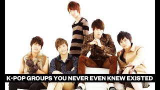 K-pop groups you never even knew existed