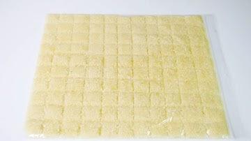 다진 마늘 보관 방법 | 소분 냉동 보관 지퍼백