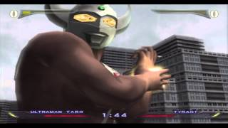 Ultraman Fighting Evolution Rebirth Pt5 Episode 5 Taro Vs Tyrant Vs EX RedKing