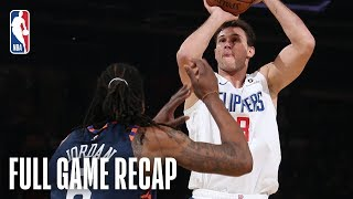 Clippers vs Knicks | LA Makes a Late Run in MSG Matinee | March 24, 2019