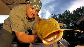 Out All Night f๐r Catfish - Solo Boat Camping on the Mississippi