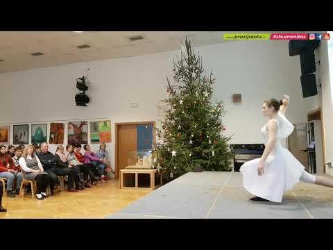 Schola Humanitas - Vánoce 2018 - 3.A