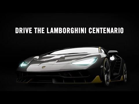 "Lamborghini Centenario Reveal - Next ""Forza Motorsport"" Cover Car (2016)   Turn10 Studios Game"