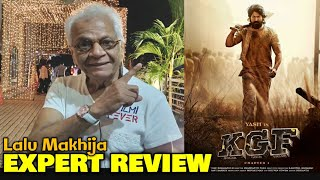 Lalu Makhija EXPERT REVIEW On KGF Chapter 1 | Rocking Star Yash, Srinidhi Shetty