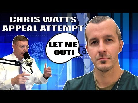 Chris Watts Wants To Appeal His Case! What Is He Thinking? Lets Talk About It!