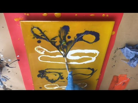 Epoxy Resin Fluid Art - Easy Picture