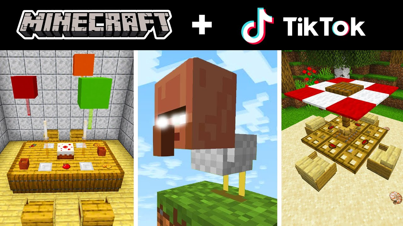 Minecraft Tik Tok Compilation 36