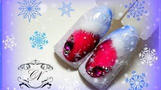 ❄Новогодний дизайн ногтей