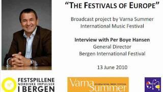 Baixar Varna Broadcast Interview - Bergen International Festival