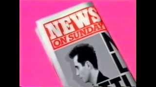 News On Sunday tabloid newspaper TV ad 1987