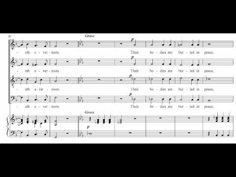 Händel HWV 264-10 Their bodies are buried in peace