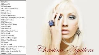 Christina Aguilera Greatest Hits  -  The Best Of Christina Aguilera  || MP3/HD