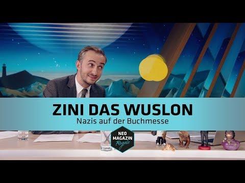 Zini das Wuslon - Nazis auf der Buchmesse | NEO MAGAZIN ROYAL mit Jan Böhmermann - ZDFneo