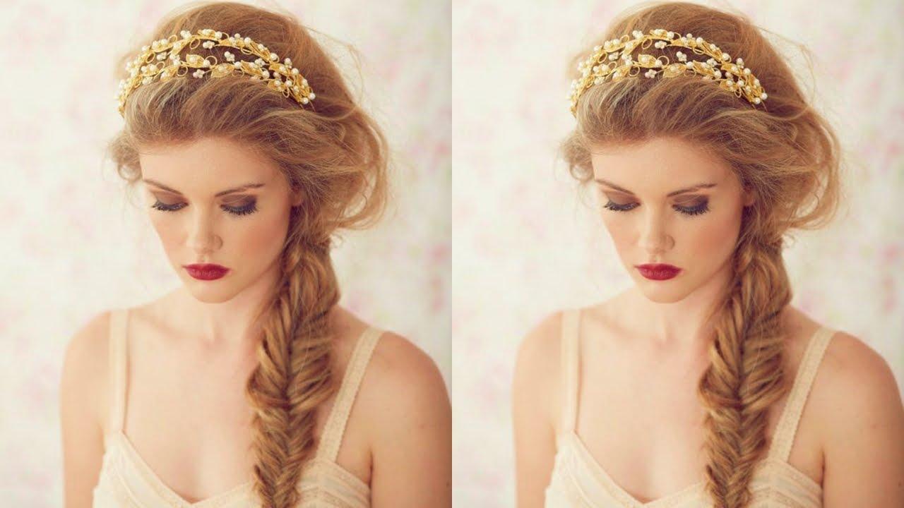 Imagenes de peinados hermosos para novias