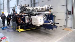 Transport maszyn na poduszkach powietrznych - MESTIL -