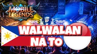 Mobile Legends Philippines Vs Indonesia + Skin Giveaway