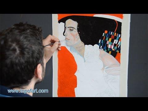 Klimt - Judith II (Salome) | Art Reproduction Oil Painting - YouTube
