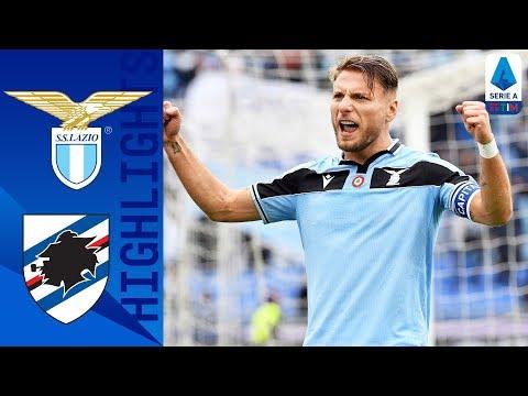 Lazio 5-1 Sampdoria | Immobile Hits A Hat-Trick As Lazio Thrash Sampdoria! | Serie A TIM