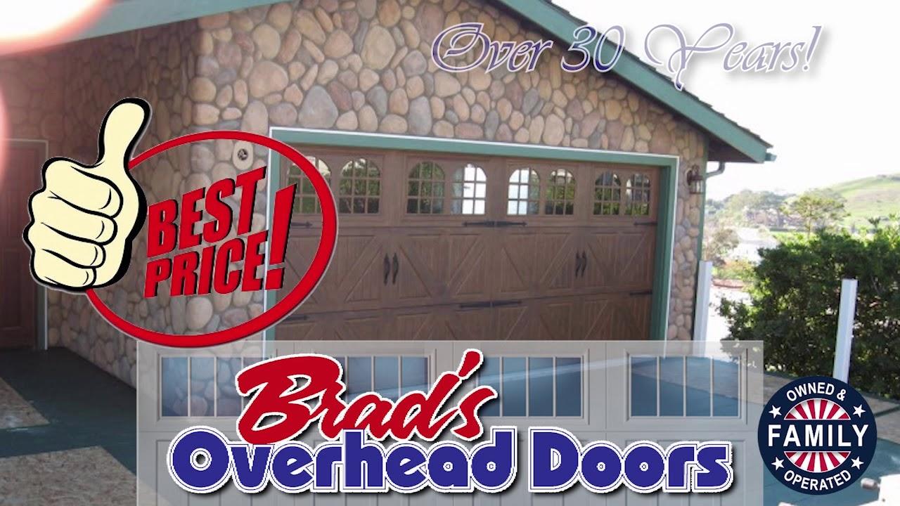 Elegant Brads Overhead Doors+Amarr