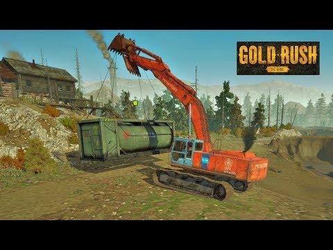 Gold Rush: The Game   Deposito de Combustible Grande a la Mina