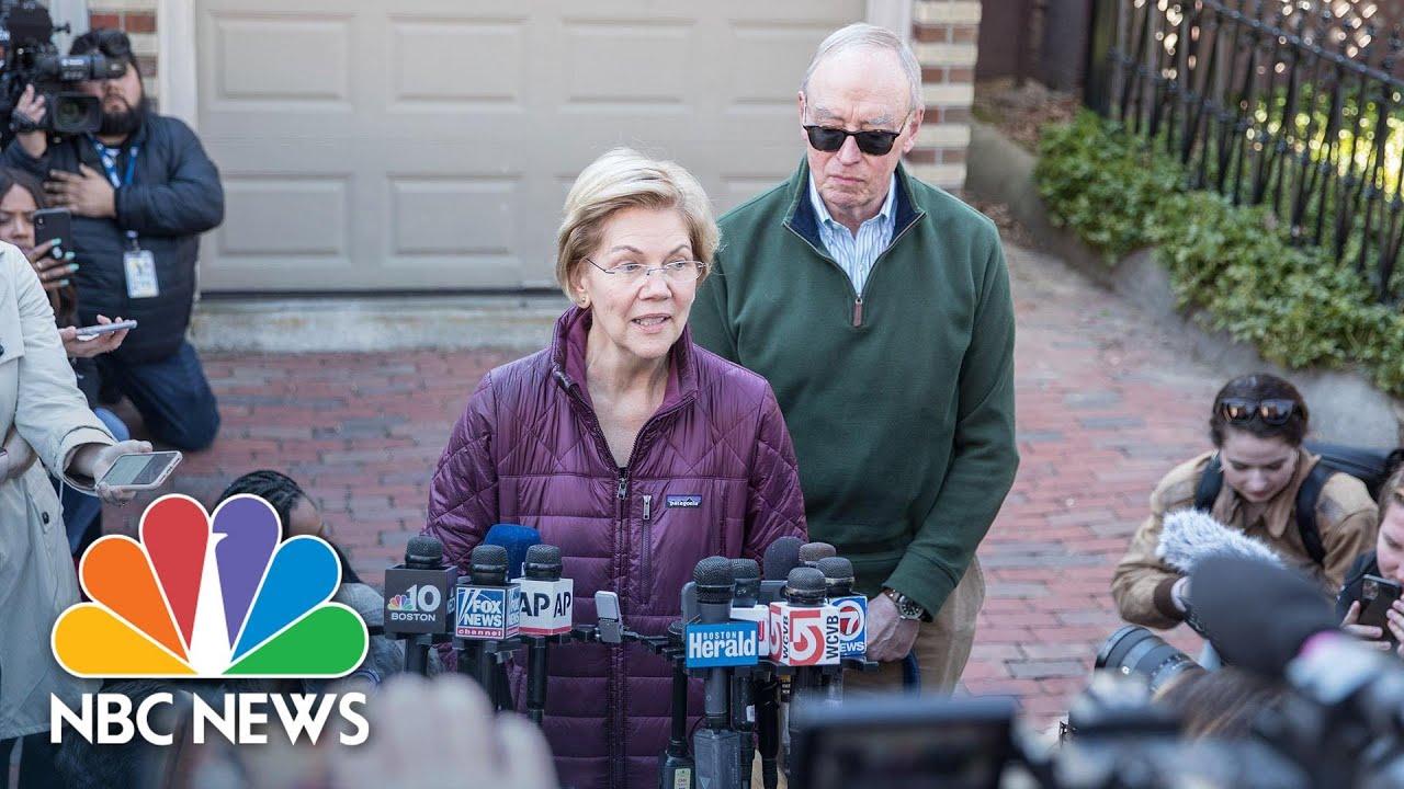 Elizabeth Warren Announces She Is Suspending Her Presidential Campaign | NBC News