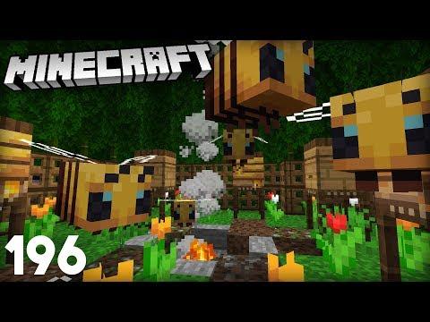 BEES! FIRST 1.15 SNAPSHOT! | Minecraft 19w34a Vanilla Survival