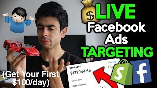 Easy In-Depth Facebook Ads Strategy That WORKS (Make Your First $100+) | Shopify Dropshipping 2018