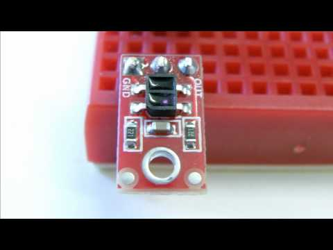 Arduino Duemilanove Setup With An Infrared Sensor - E-Gadget