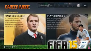 FIFA 15 - MANAGER CAREER MODE | Manchester City (In-Game Footage)