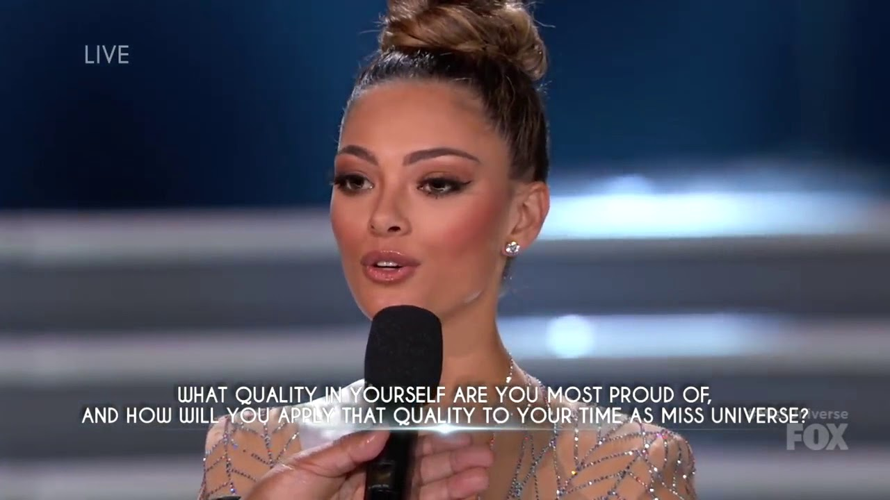 Miss Universe 2017 - Demi-Leigh Nel-Peters [ Highlights ] HD