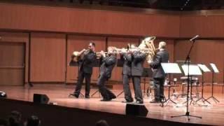 gomalan brass quintet the flintstones live in rome