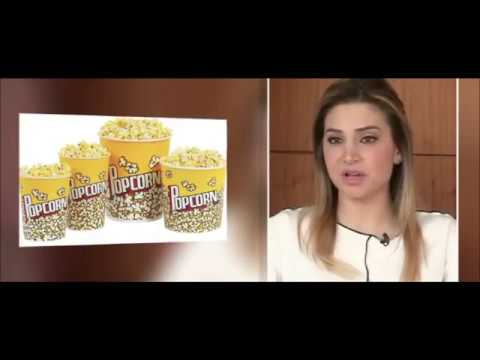 Calories In Movie Theater Popcorn - Dietitian Christelle Bedrossian, LBC, Beirut-Lebanon