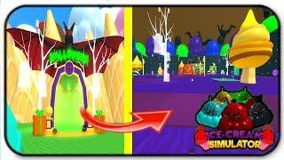 *Codes* Roblox Ice Cream Simulator Halloween Update And Dragons Update
