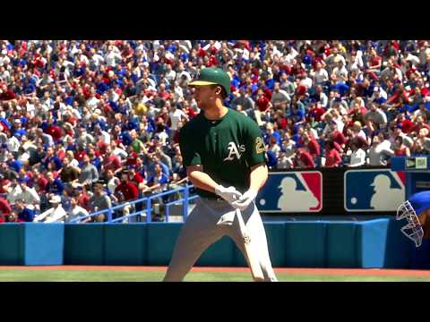 MLB18 A's vs Blue Jay's Live