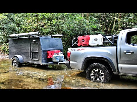 Primitive Trailer Camping Ep1 - 2 Day Adventure Trail