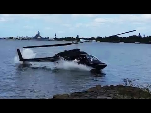 Thumbnail: Honolulu helicopter crash caught on camera; CH-53E Super Stallion falls into sea - Compilation