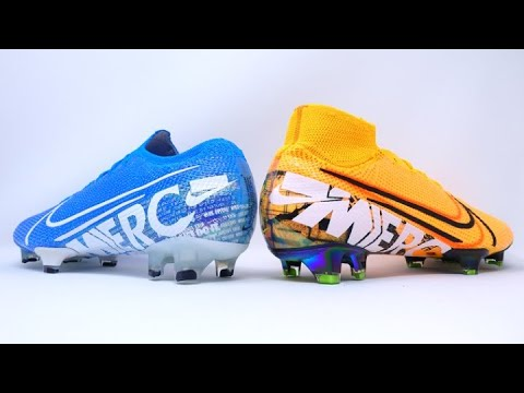 best loved b61e3 cea51 WHAT'S THE DIFFERENCE? - Nike Mercurial Superfly 7 vs Vapor 13 Elite