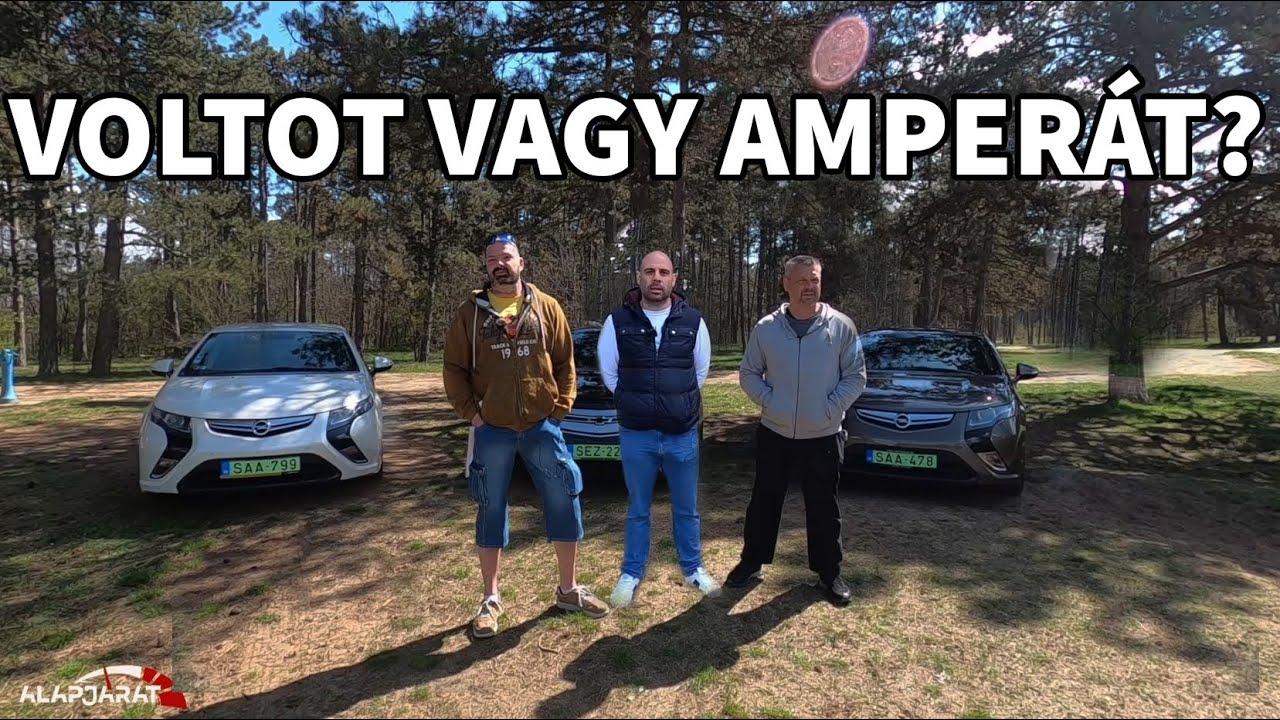 Opel Ampera / Chevrolet Volt használtteszt három tulajdonos szemével - Alapjárat