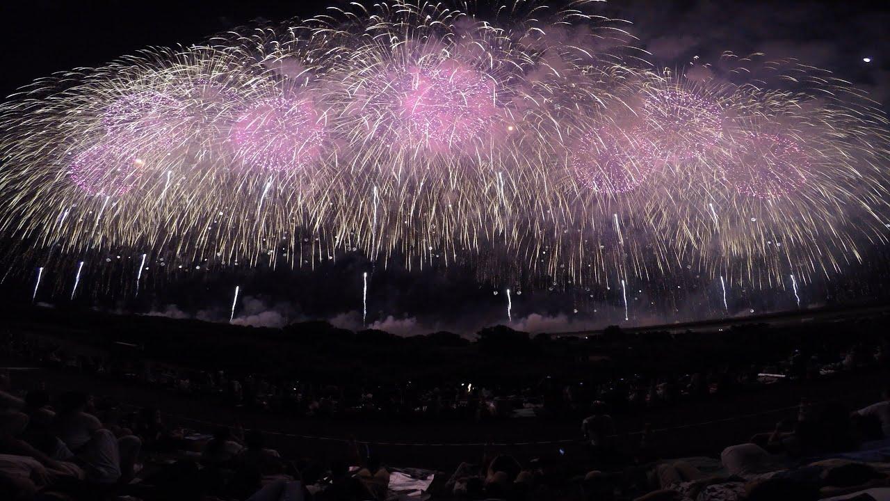 復興祈願花火フェニックス2017会場から撮影(gopro hero5black使用)