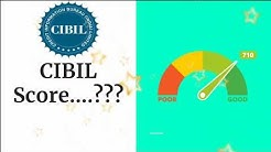 CIBIL Score || Minimum credit score required to avail bank loan || Credit Score || Banktuber