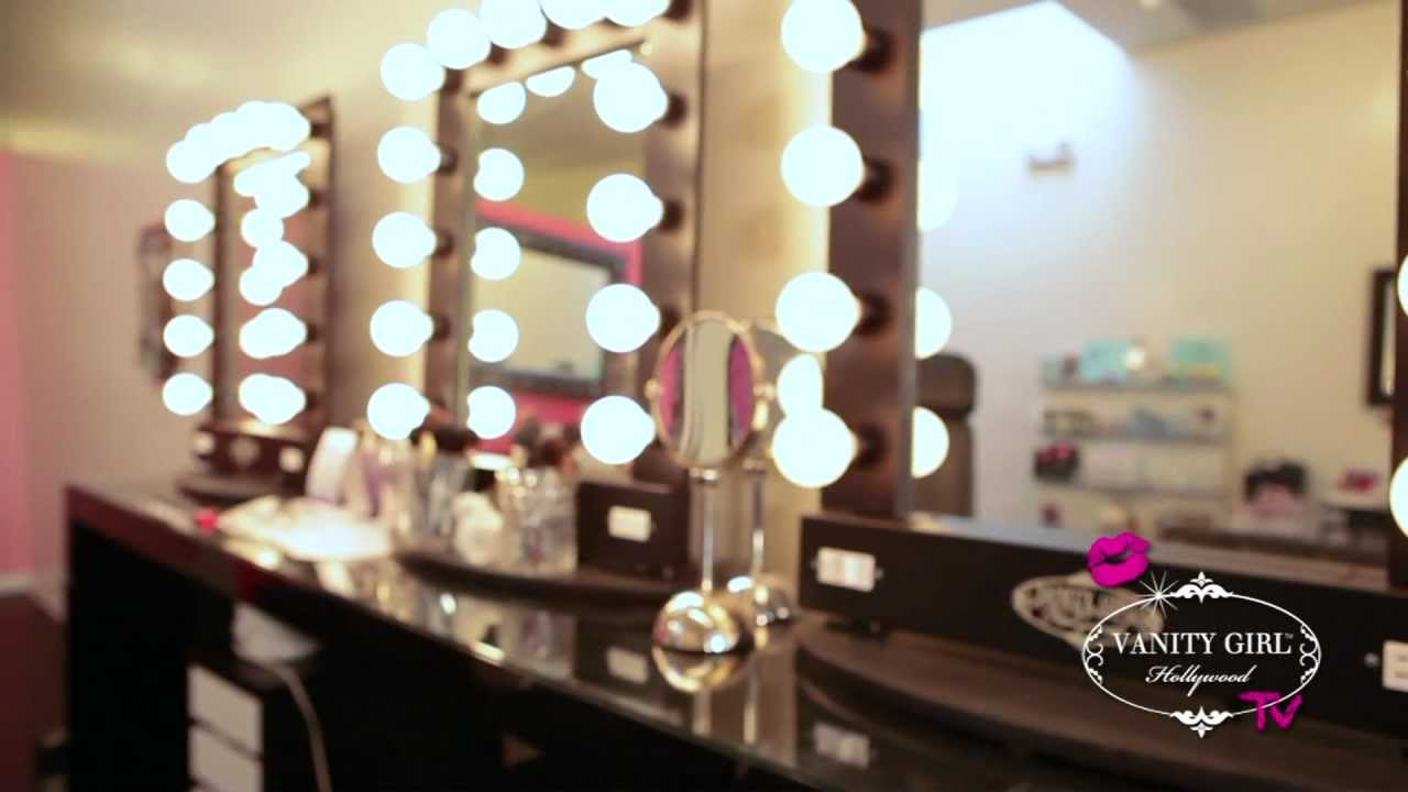 How to find the perfect lighted makeup mirror youtube for Beauty salon mirrors with lights