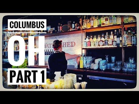 COLUMBUS, OH | Travel Vlog | Cool restaurants, coffee shops, & distilleries + aerial yoga | Aug 2019