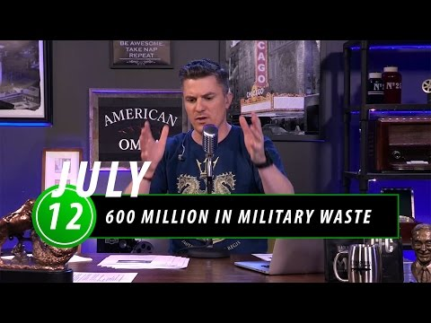 600 Million in Military Waste Proves We have Money for Our Troops