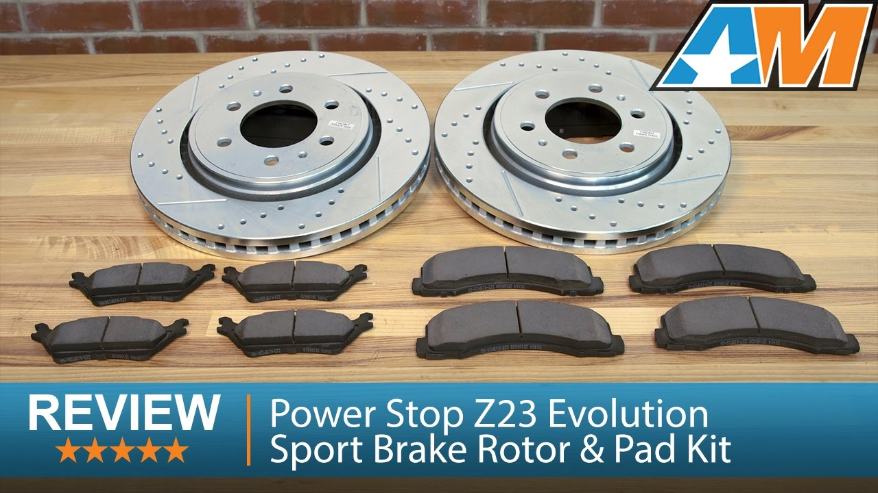 2009 2016 F 150 Power Stop Z23 Evolution Sport Brake Rotor Pad Kit Wilwood Disc Kitfront Stock Replacementhonda262mm Rotors 2wd 4wd 6 Lug Review