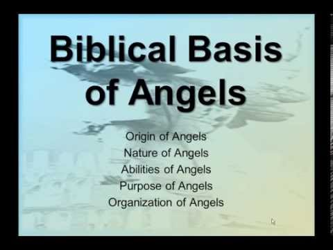 angelology the doctrine of angels pdf