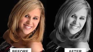How to Convert Color Photo to Black and White in Photoshop