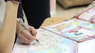 Школа 7 ключей. Урок географии.