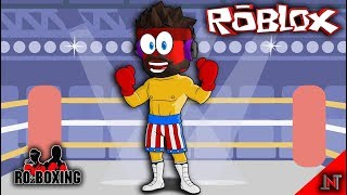 ROBLOX Indonesia #101 RO-Boxing | Boxing exercises with friends curfew